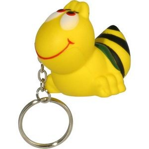 Bee Stress Reliever Key Chain