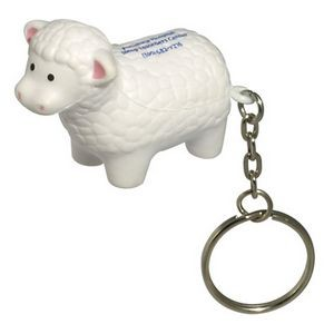 Sheep Stress Reliever Key Chain