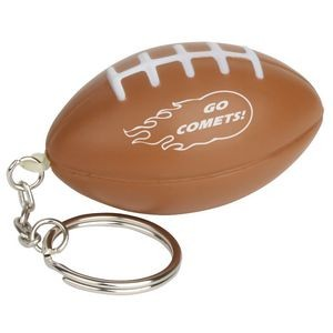 Football Stress Reliever Key Chain