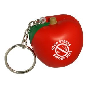 Apple Stress Reliever Key Chain