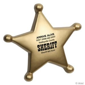 Sheriff's Badge Stress Reliever